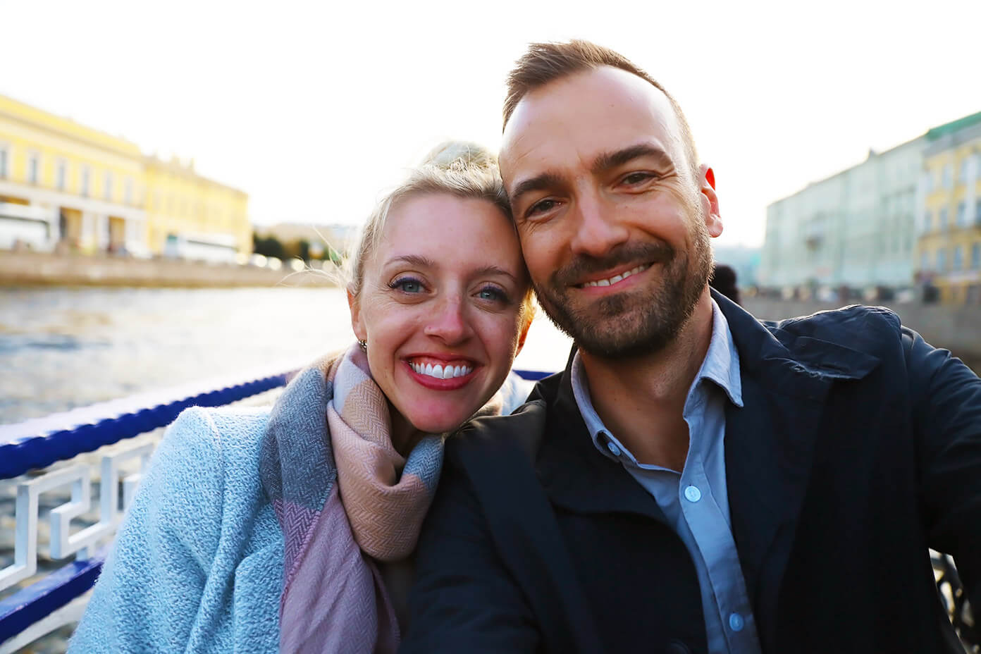St Petersburg Canal Cruise | Barclay and Ali Martin