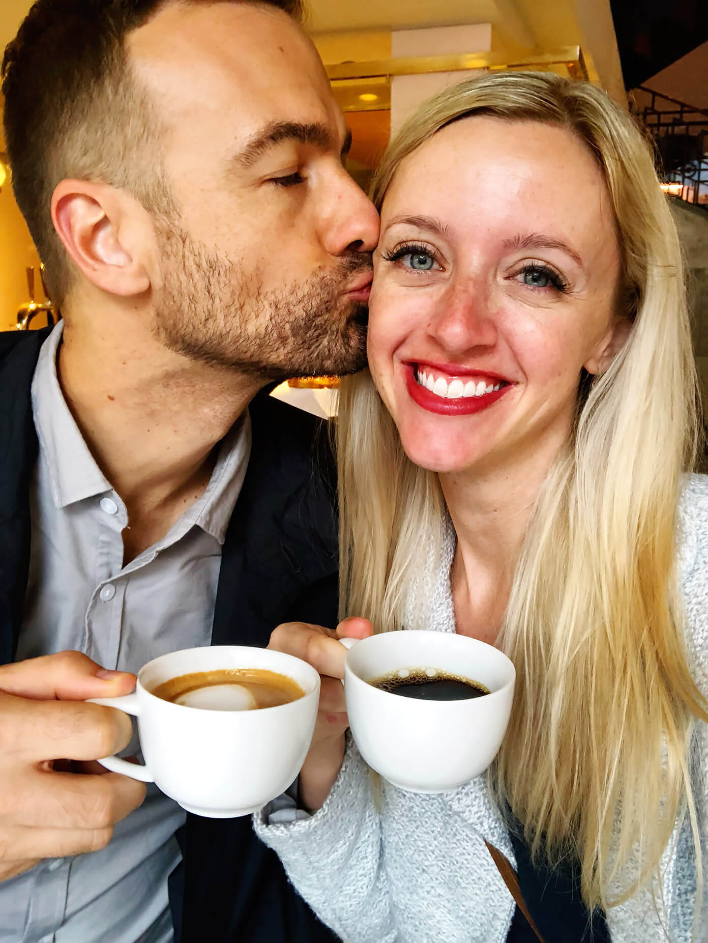 Coffee date in Stockholm, Sweden