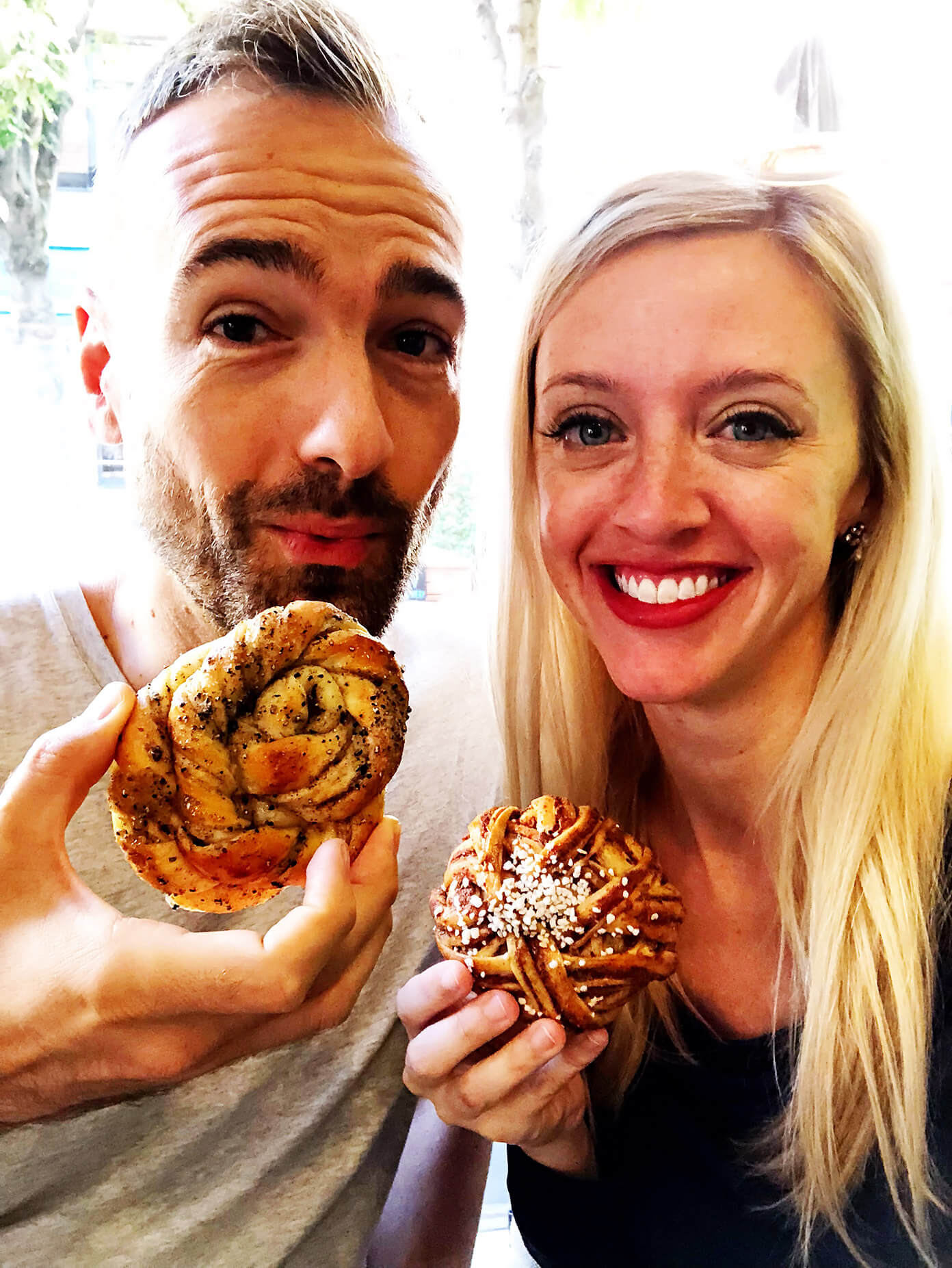 Cinnamon and Cardamom buns are made of magic in Stockholm, Sweden