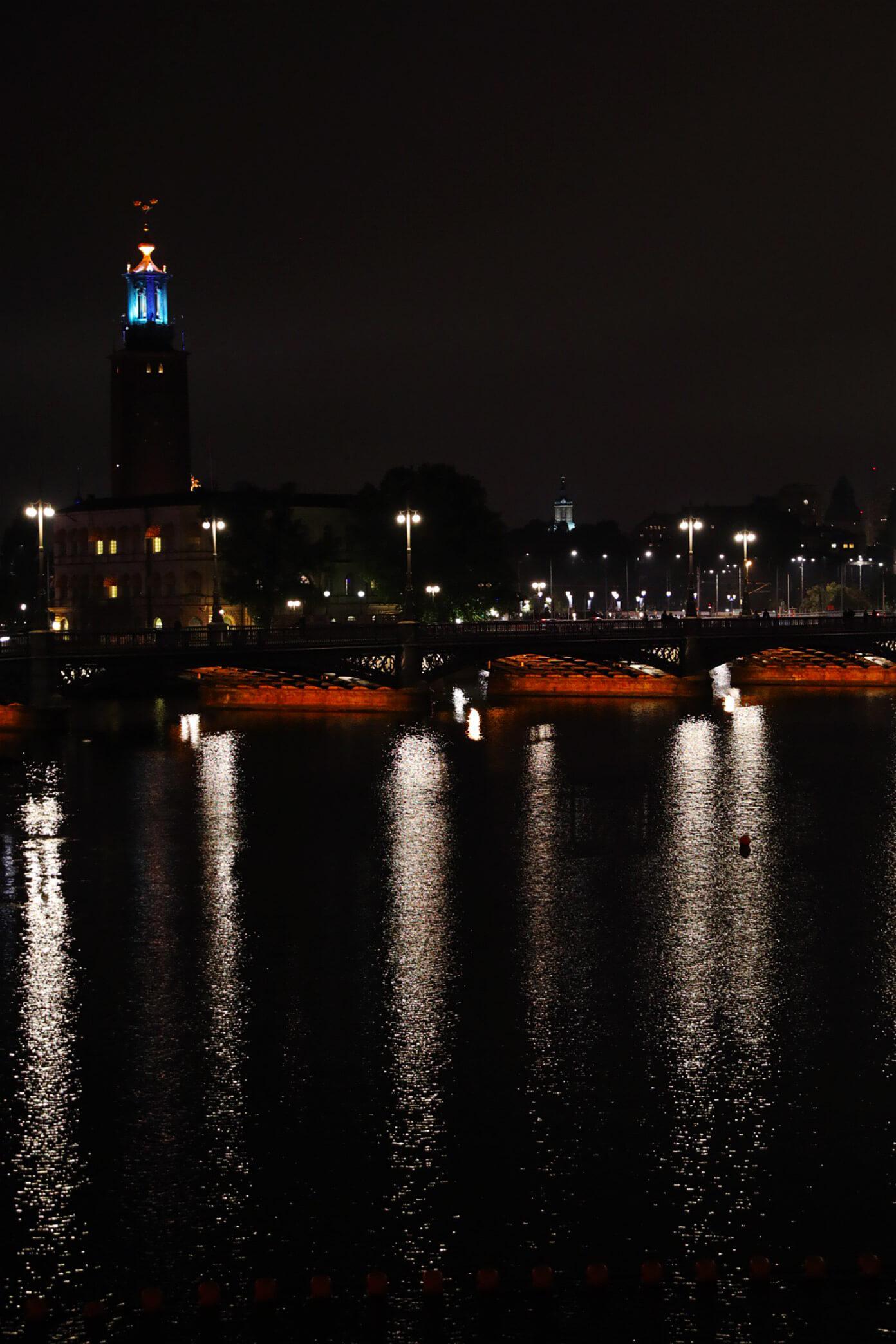 Stockholm, Sweden by Night