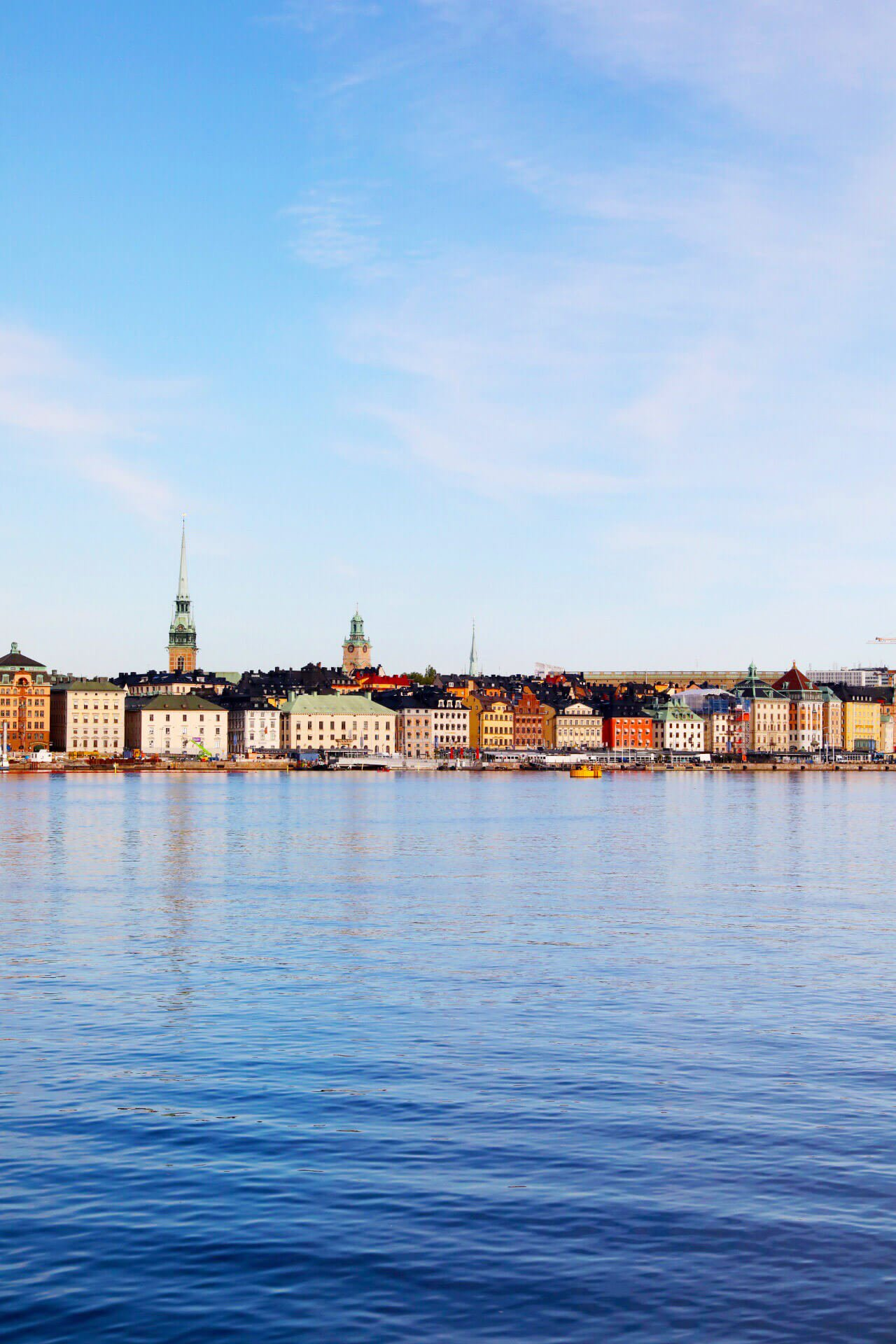 Beautiful skyline of Stockholm, Sweden
