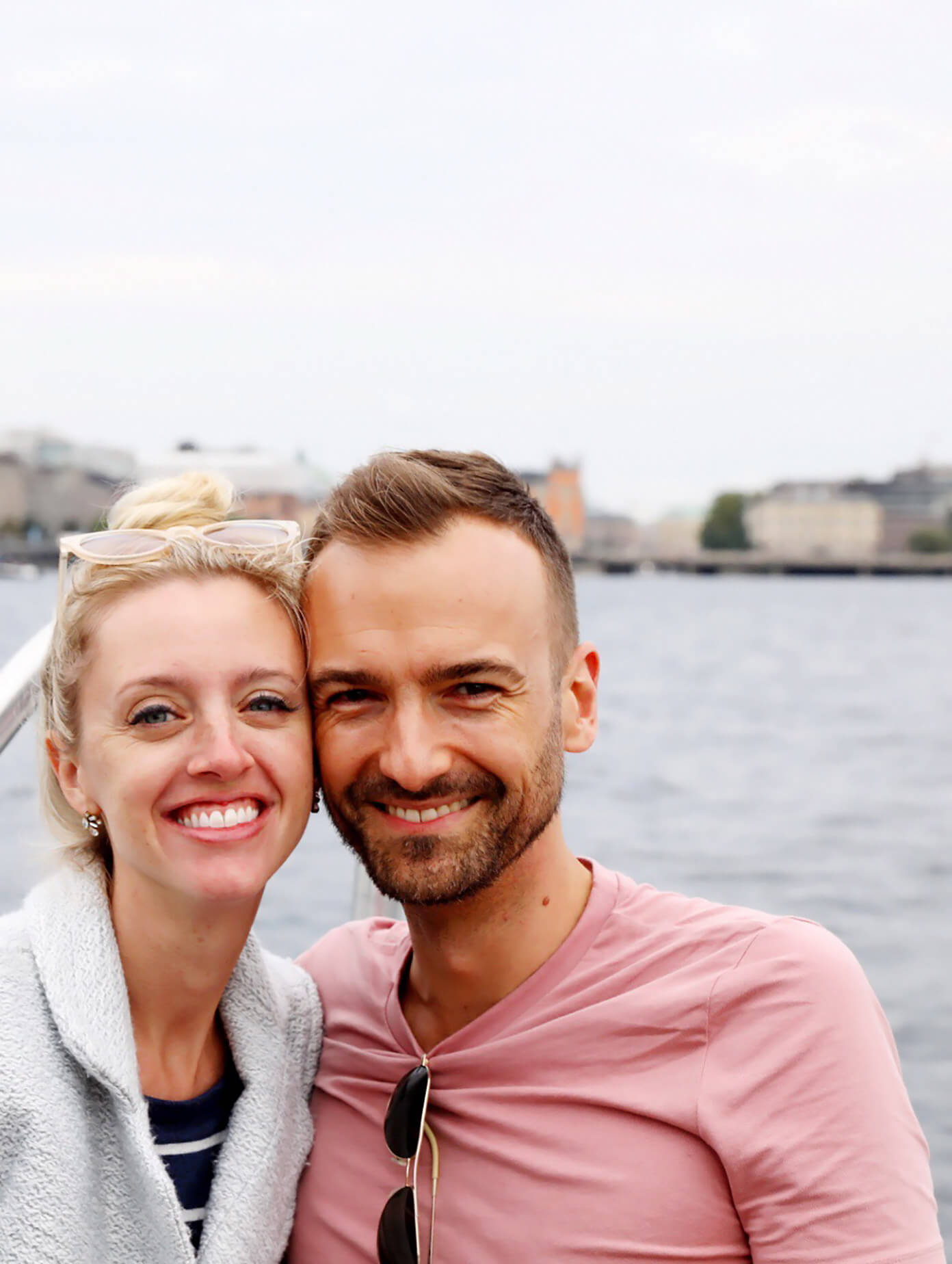 Ali and Barclay in Stockholm, Sweden