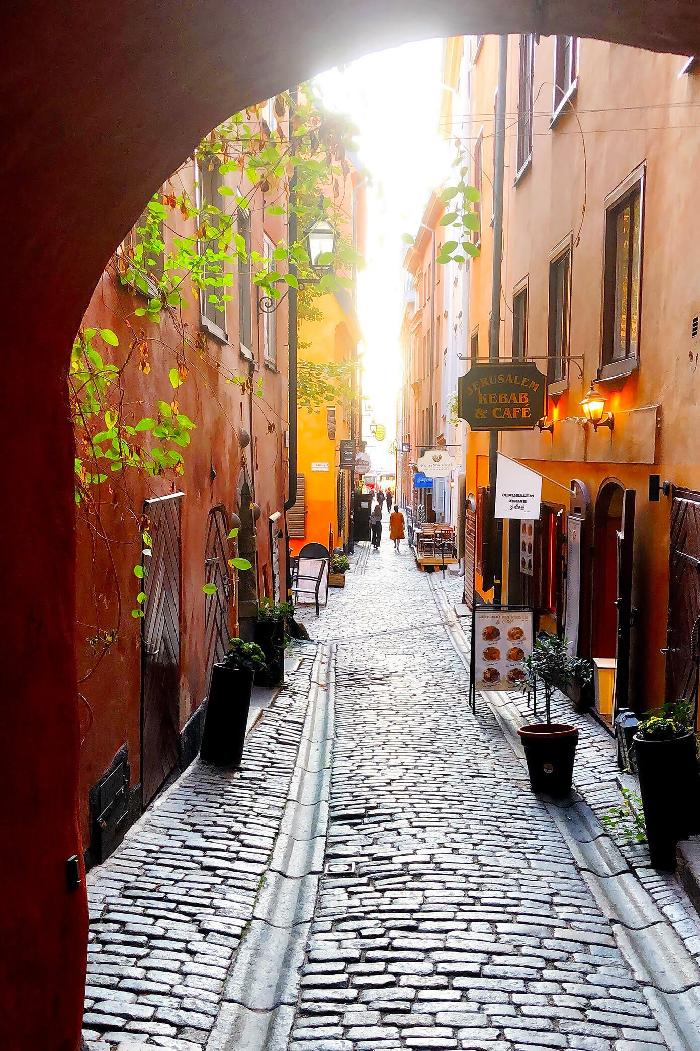 Charming Gamla Stan in Stockholm, Sweden