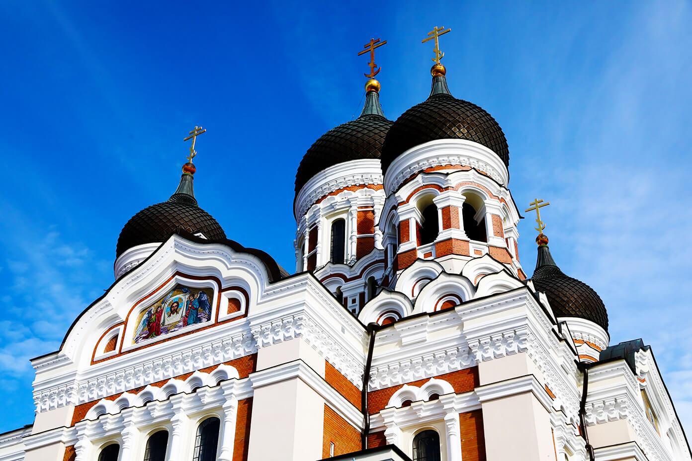 Tallin, Estonia Cathedral