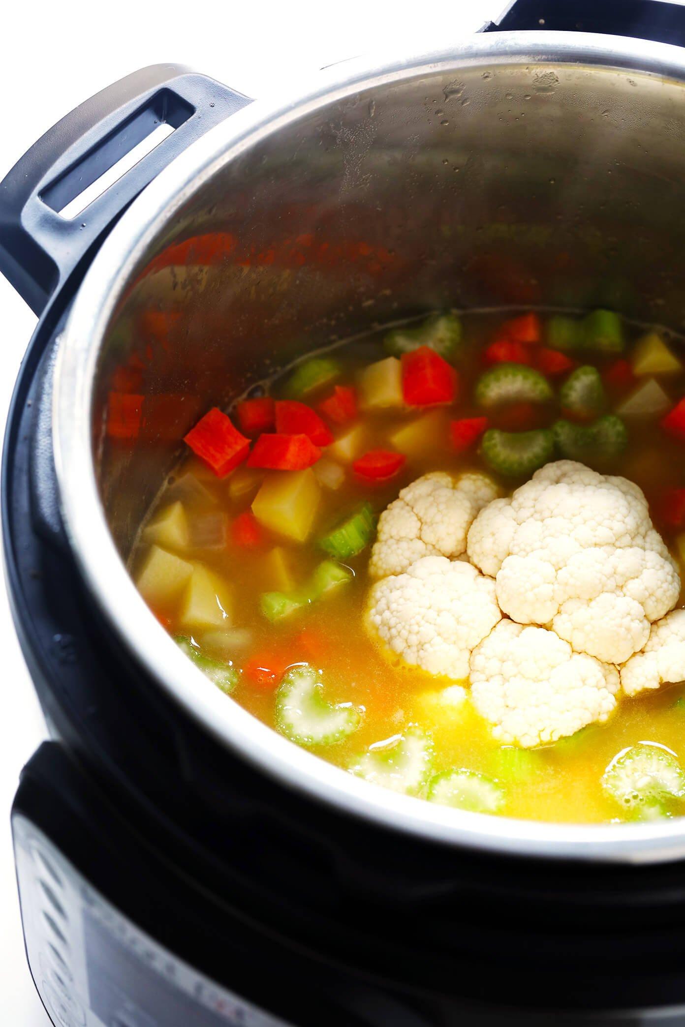 Instant Pot (Pressure Cooker) Turkey Cheeseburger Soup Ingredients