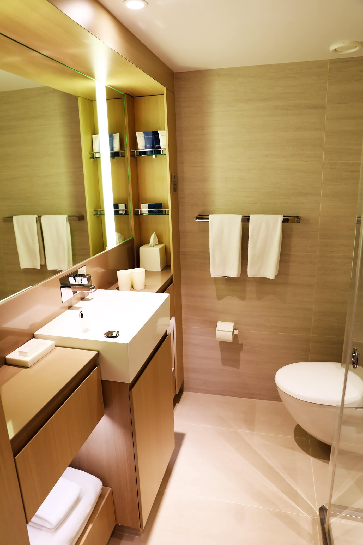 Deluxe Stateroom Bathroom | Viking Star | Viking Ocean Cruise