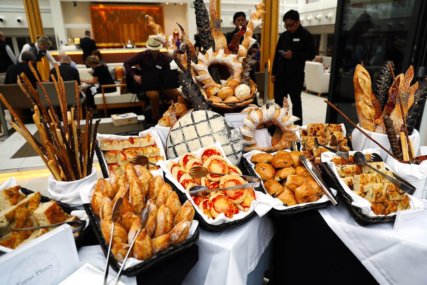 Bread buffet   Viking Star Ocean Cruise