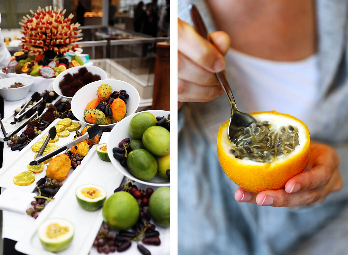 Tropical fruit buffet | Viking Star Ocean Cruise