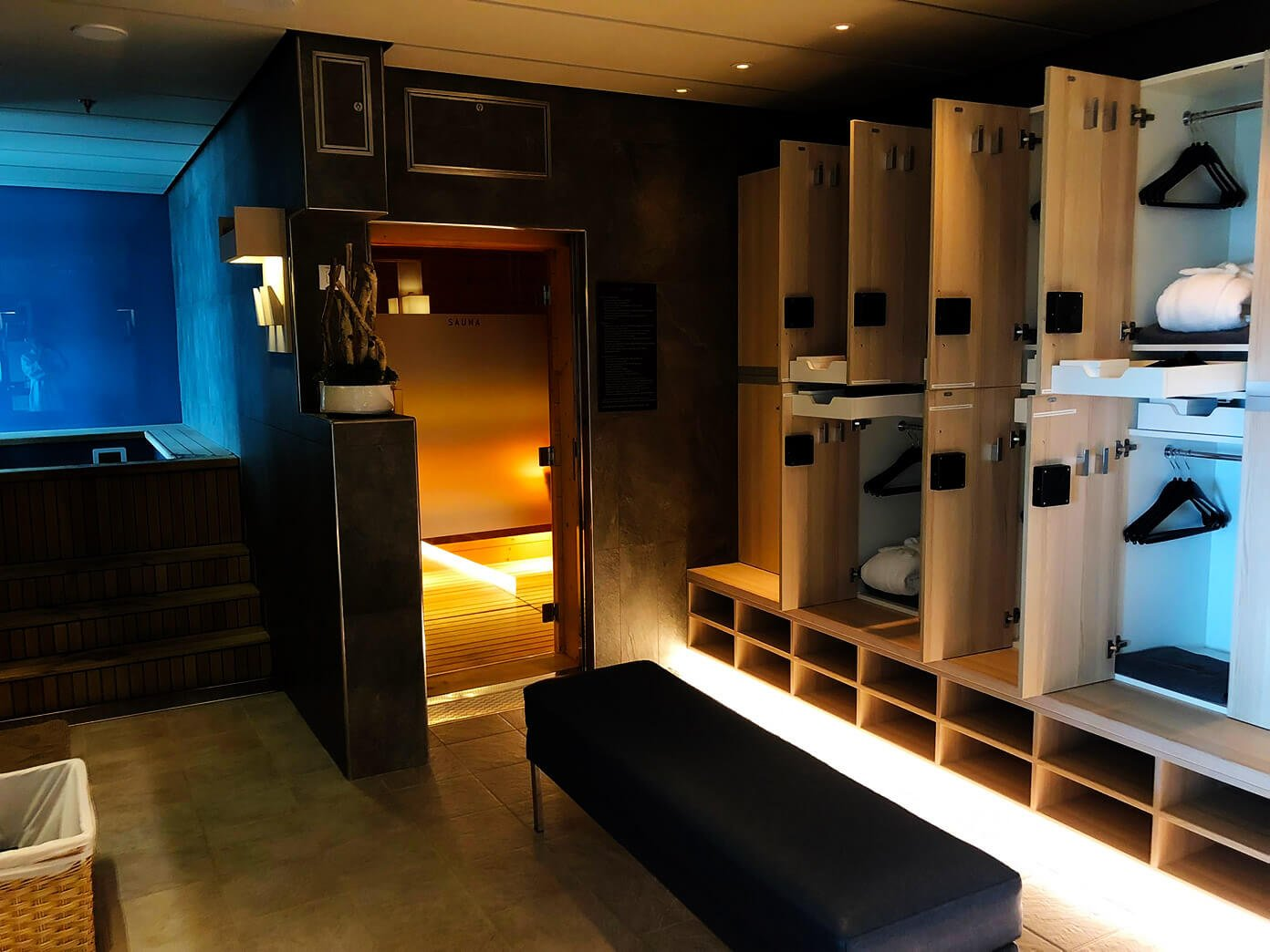 Viking Star Locker Rooms | Viking Ocean Cruise
