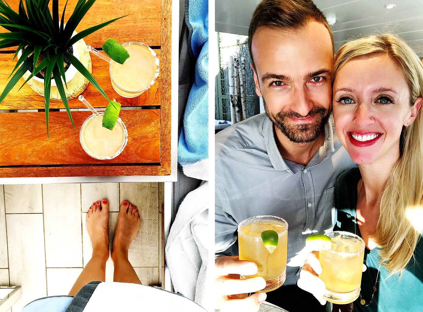 Margaritas | Silver Spirits Package | Viking Ocean Cruise | Barclay and Ali Martin
