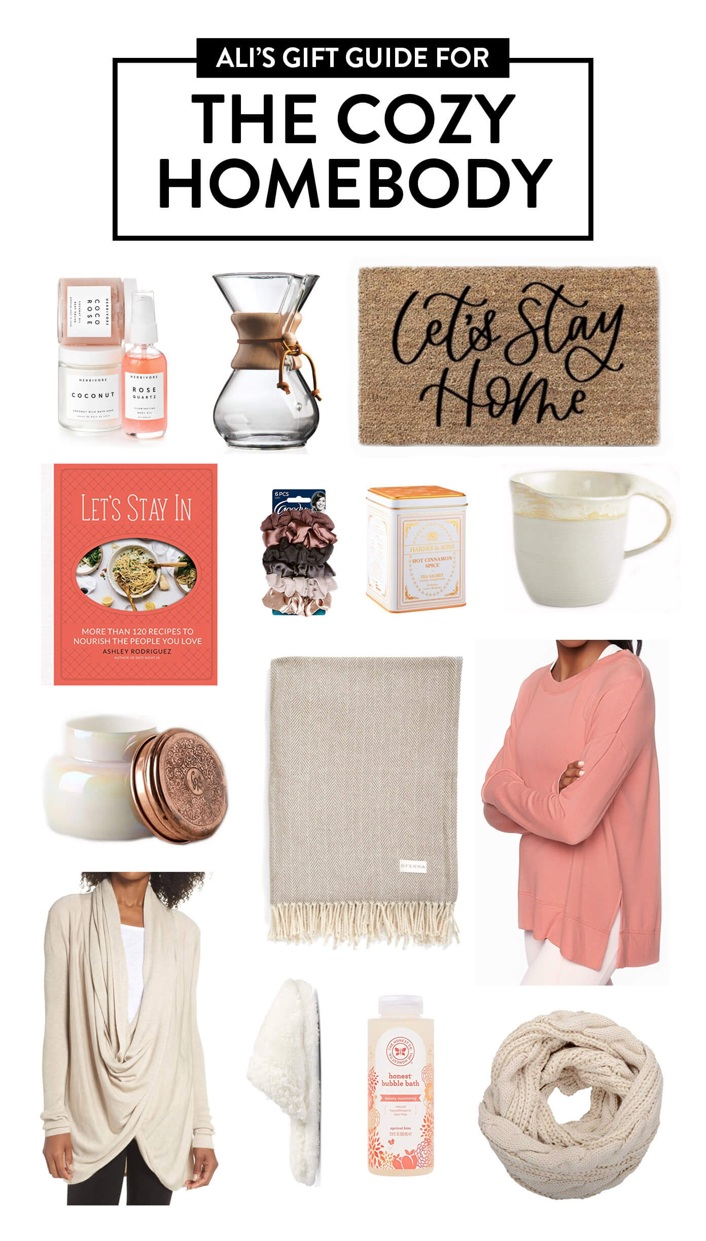 2018 Gimme Some Oven Gift Guide: The Cozy Homebody