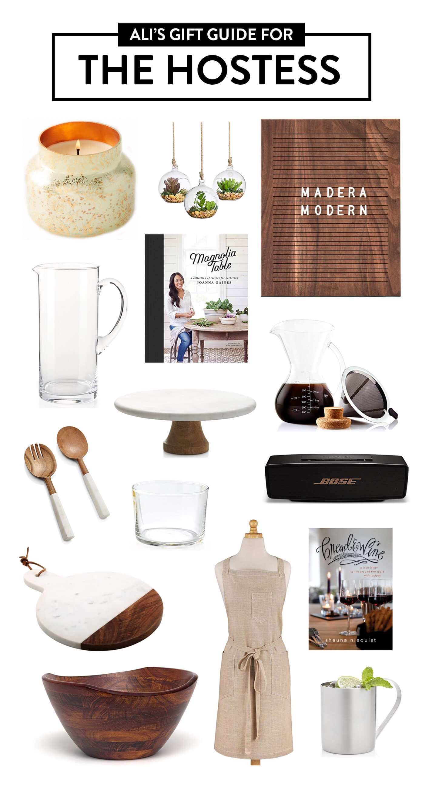 2018 Gimme Some Oven Gift Guide: The Hostess