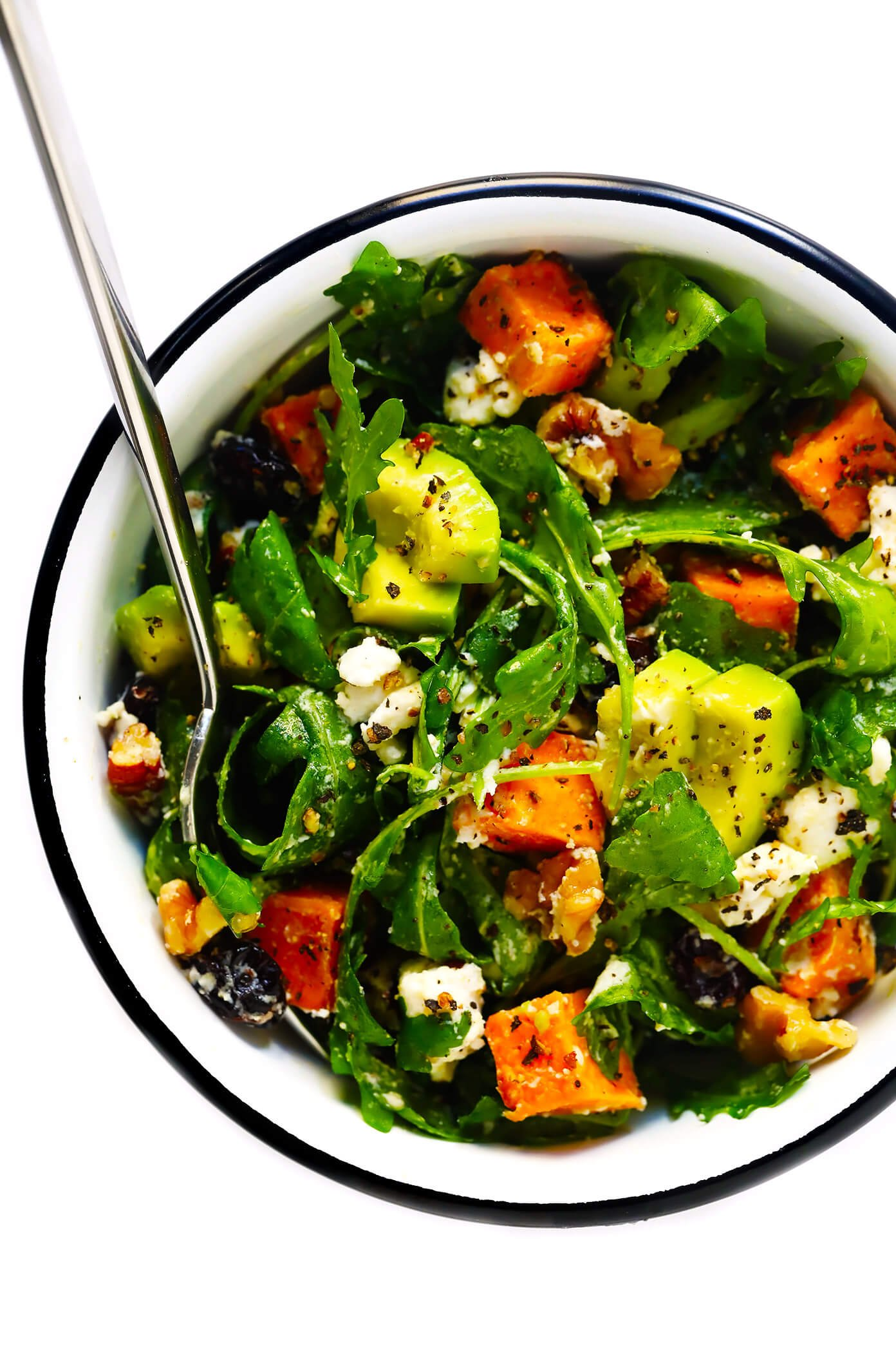 Feel-Good Fall Salad Recipe with Easy Lemon Dressing
