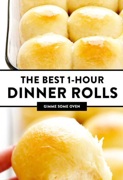 1 Hour Soft Dinner Rolls Recipe