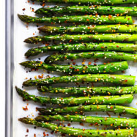Everything Roasted Asparagus