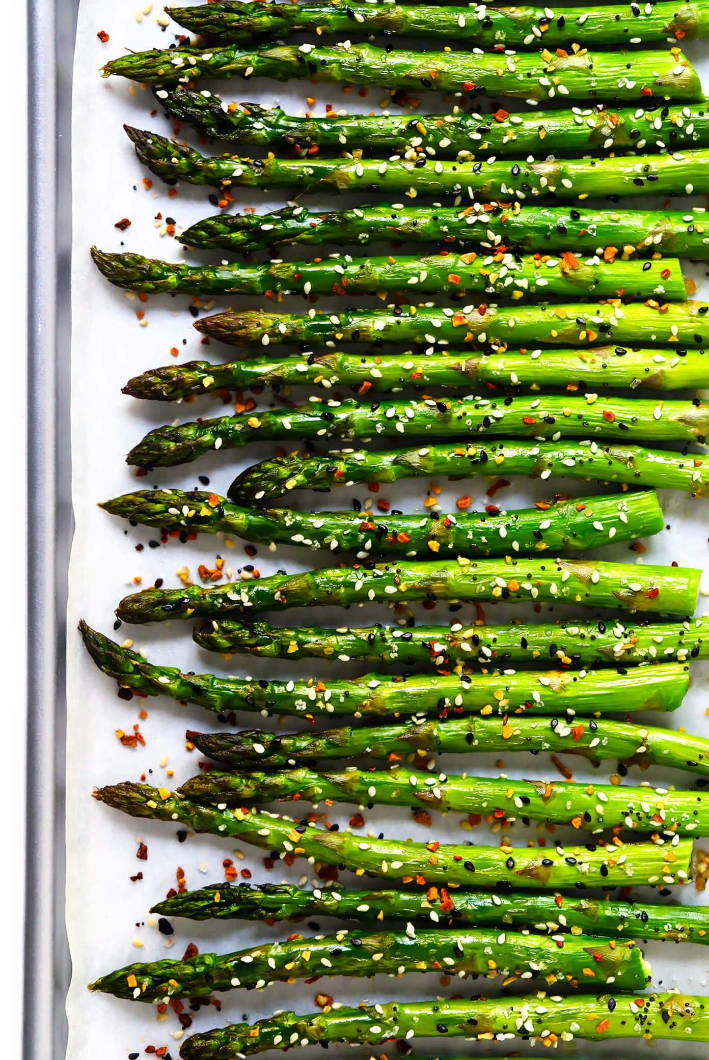 """Everything"" Roasted Asparagus Recipe"