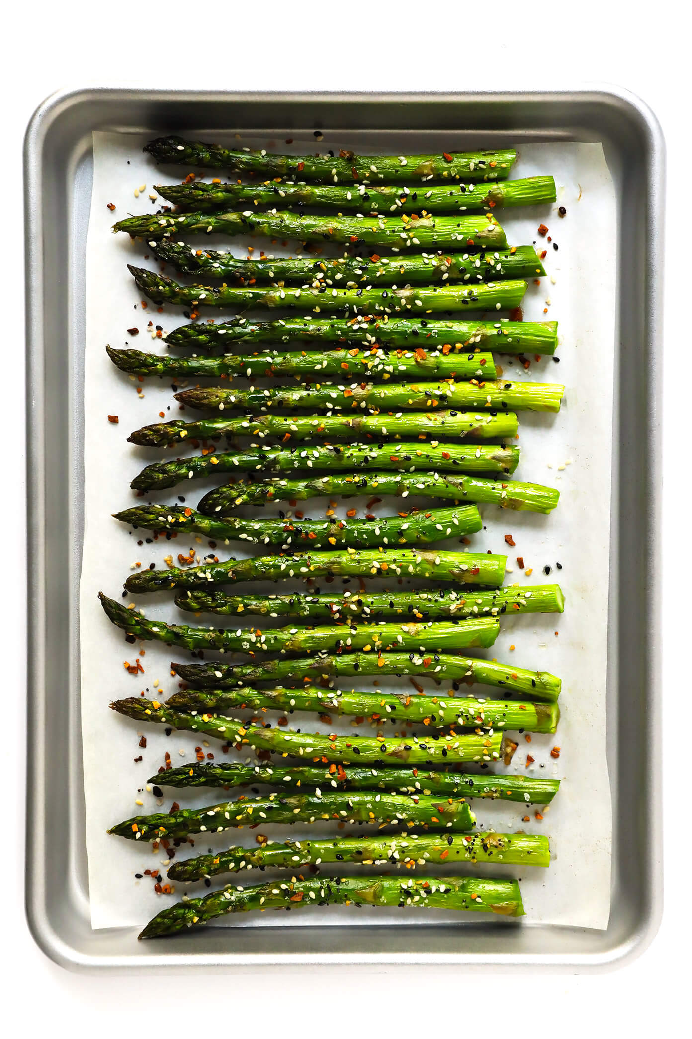 """Everything"" Roasted Asparagus 