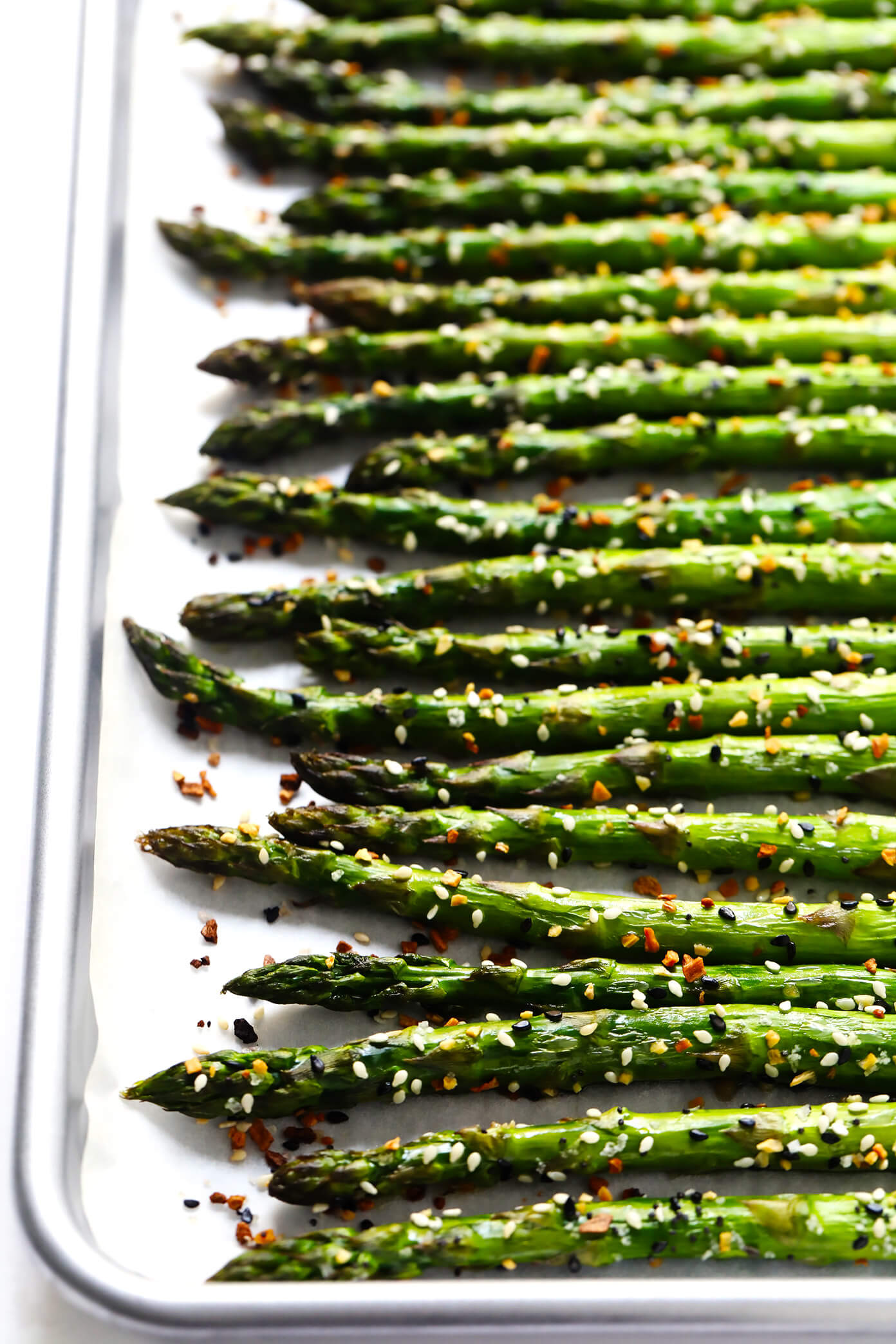 """Everything"" Roasted Asparagus"