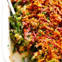 Healthy Green Bean Casserole Recipe