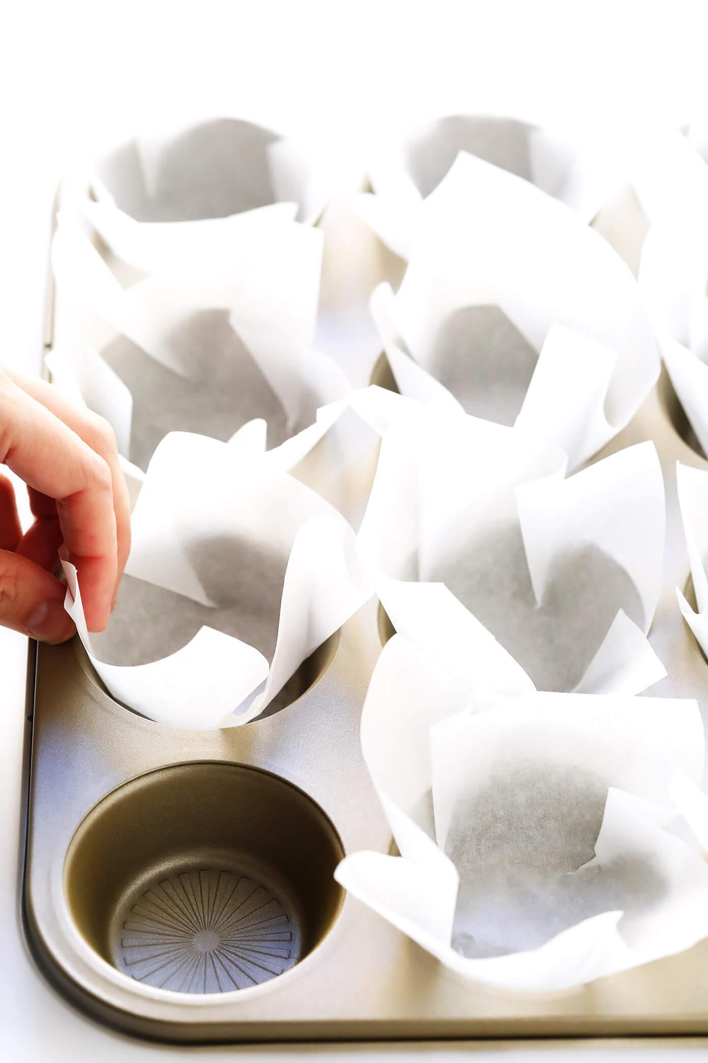 DIY Parchment Baking Liners