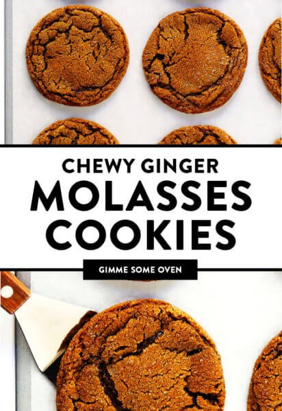 Ginger Molasses Cookies Recipe