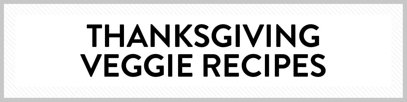 Thanksgiving Vegetable Side Dish Recipes