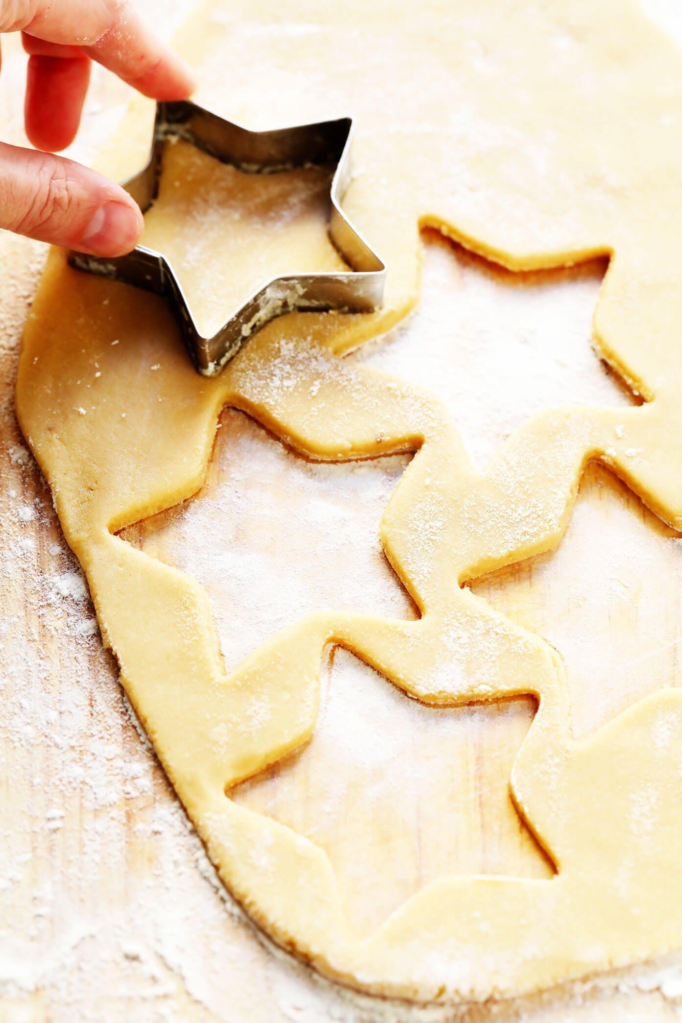Cut-Out Brown Sugar Cookies