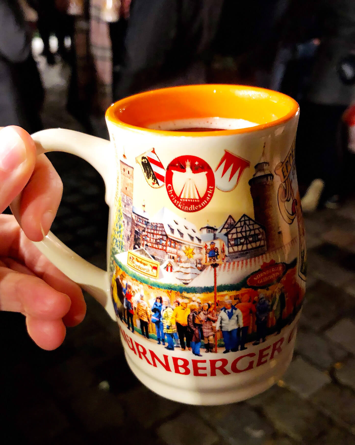 Gluhwein in Germany Christmas Markets
