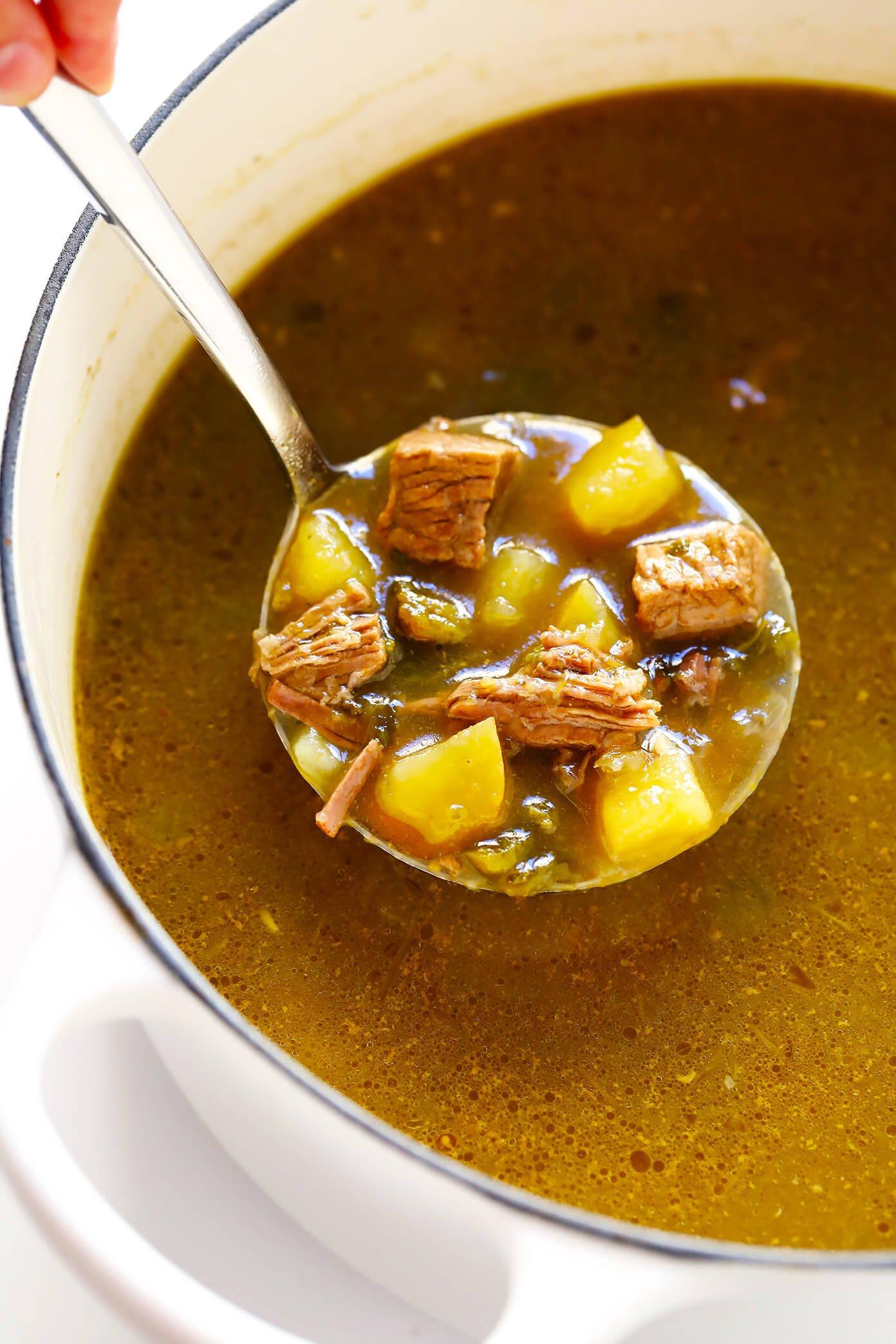 Salsa Verde Beef Stew
