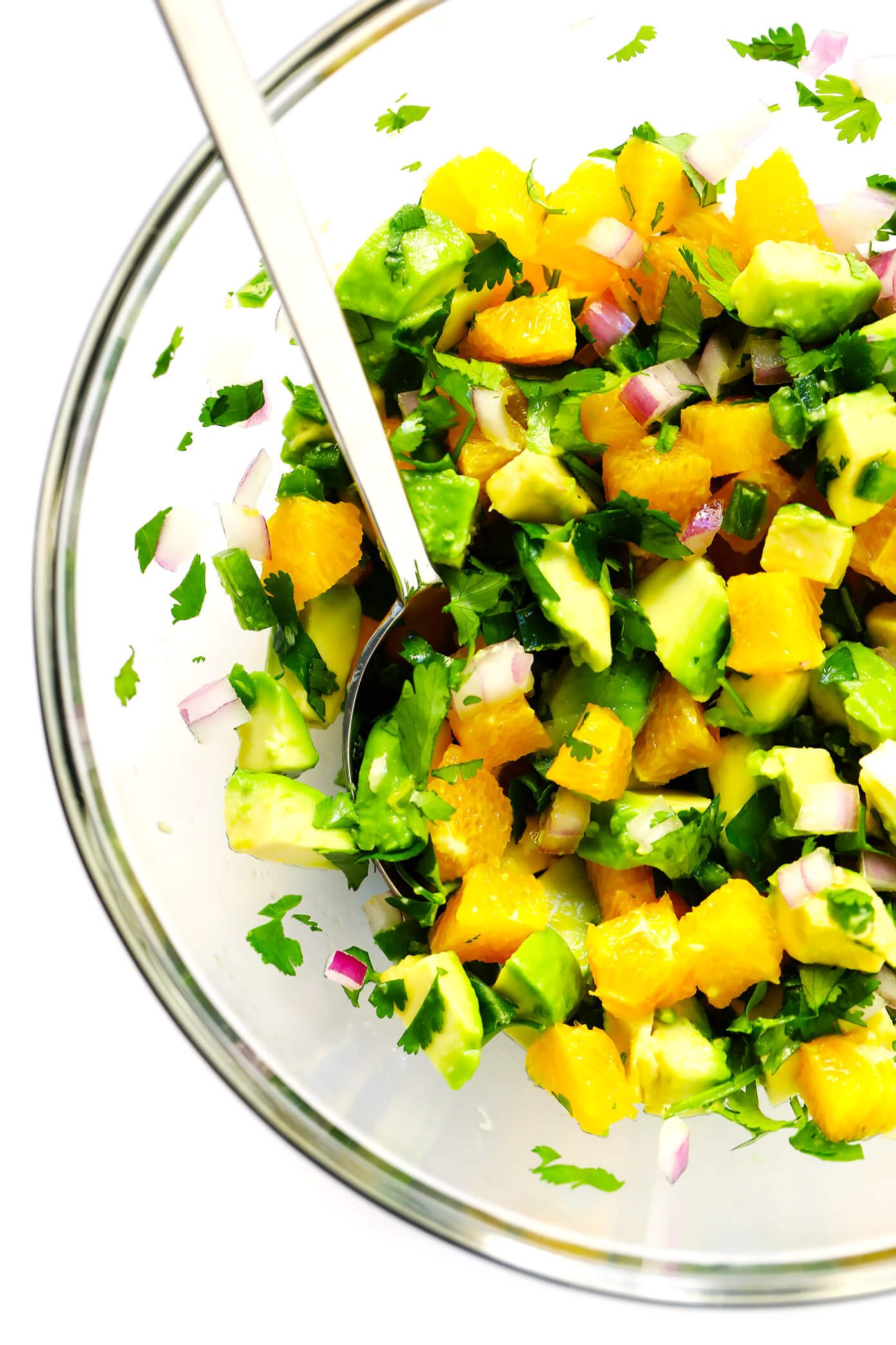 Fresh Orange Avocado Salsa