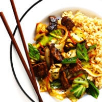 Sesame Beef and Cabbage Stir-Fry