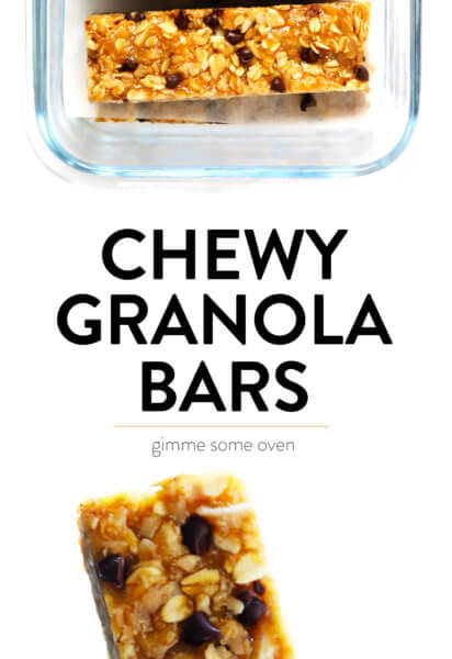 No bake chewy peanut butter granola bar recipe