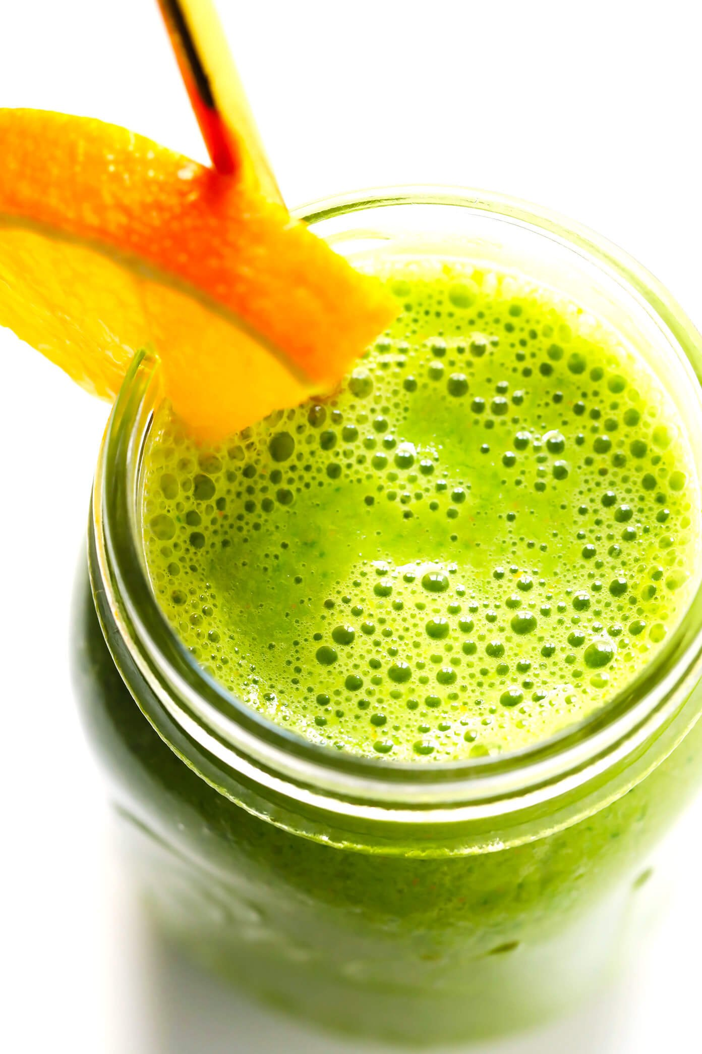 Orange Julius Green Smoothie Ingredients