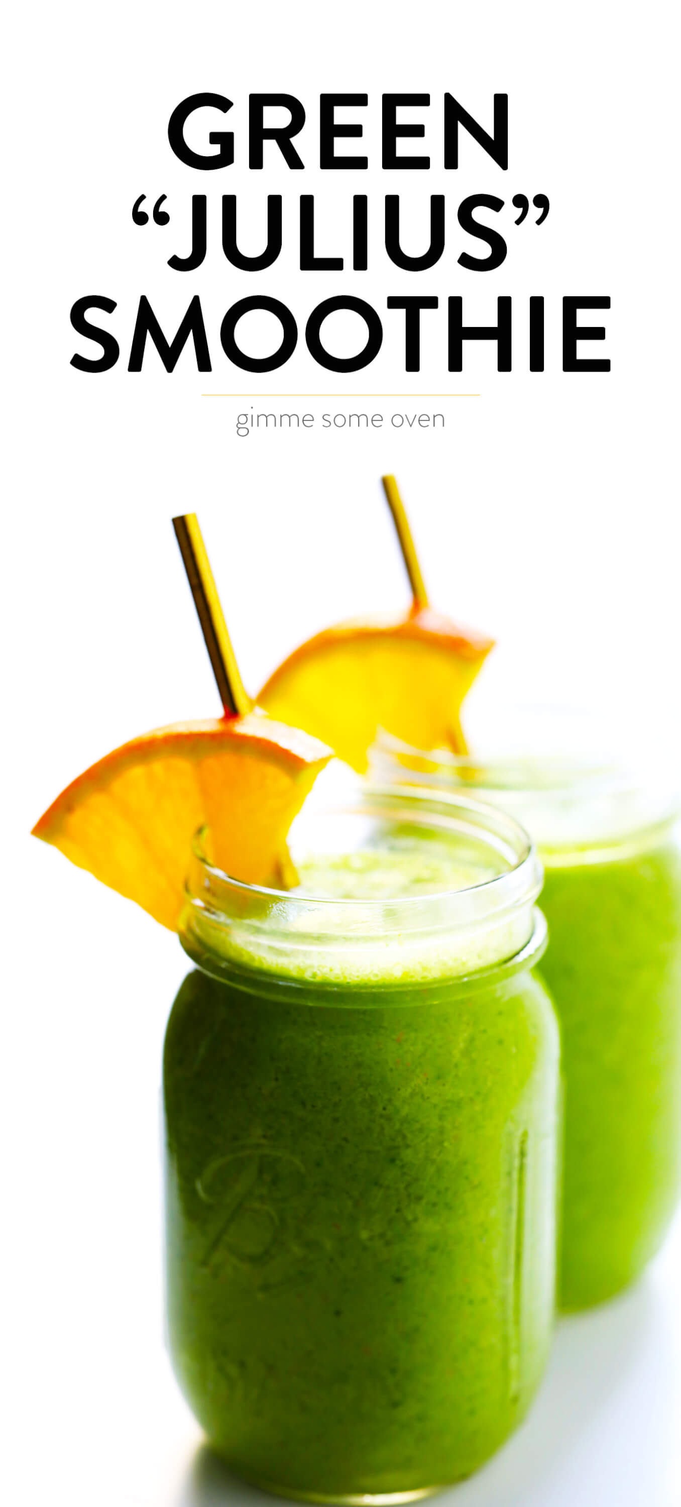 Healthy Green Julius Smoothie
