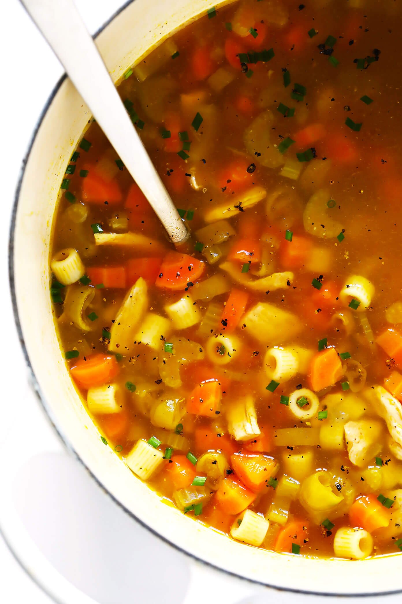 Pepperoncini Chicken Noodle Soup Recipe