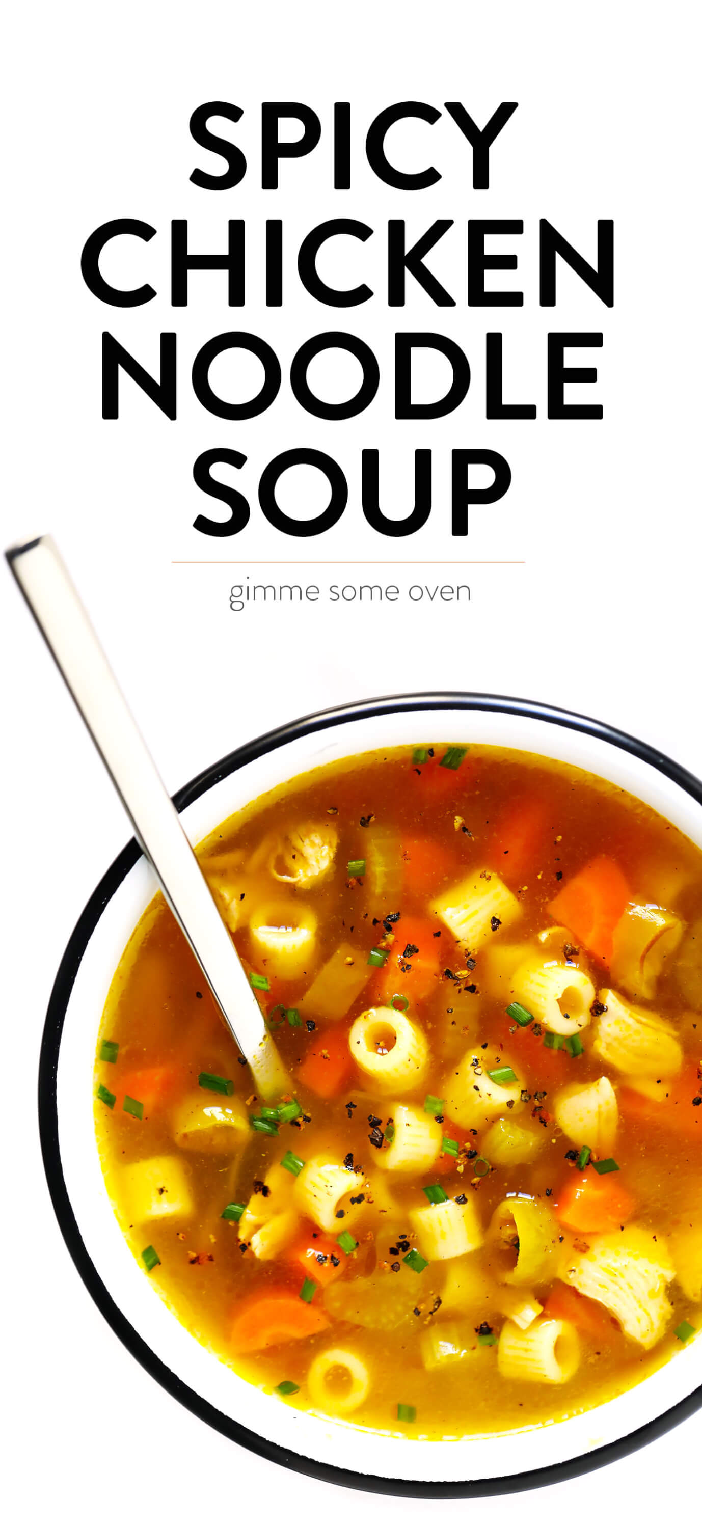 Spicy Pepperoncini Chicken Noodle Soup Recipe