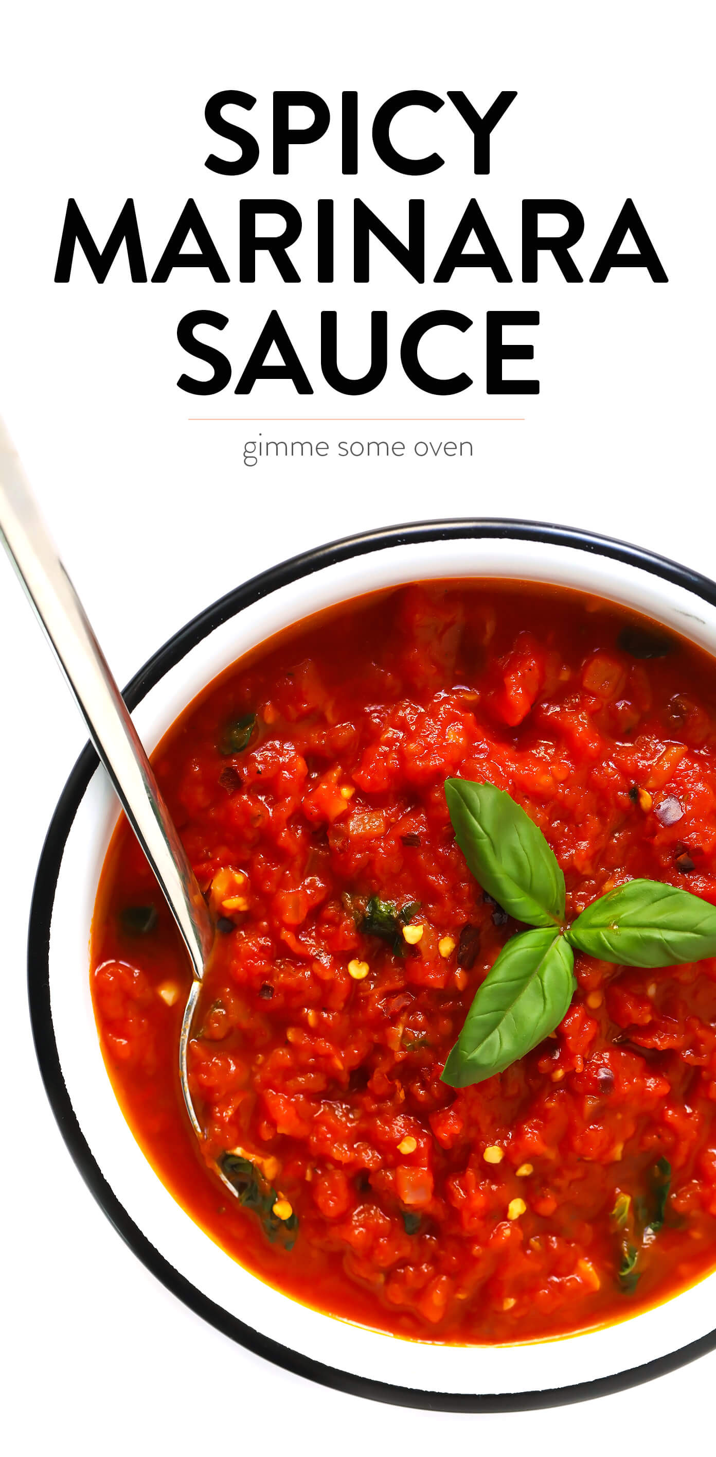 Spicy Arrabbiata Sauce Recipe with Basil