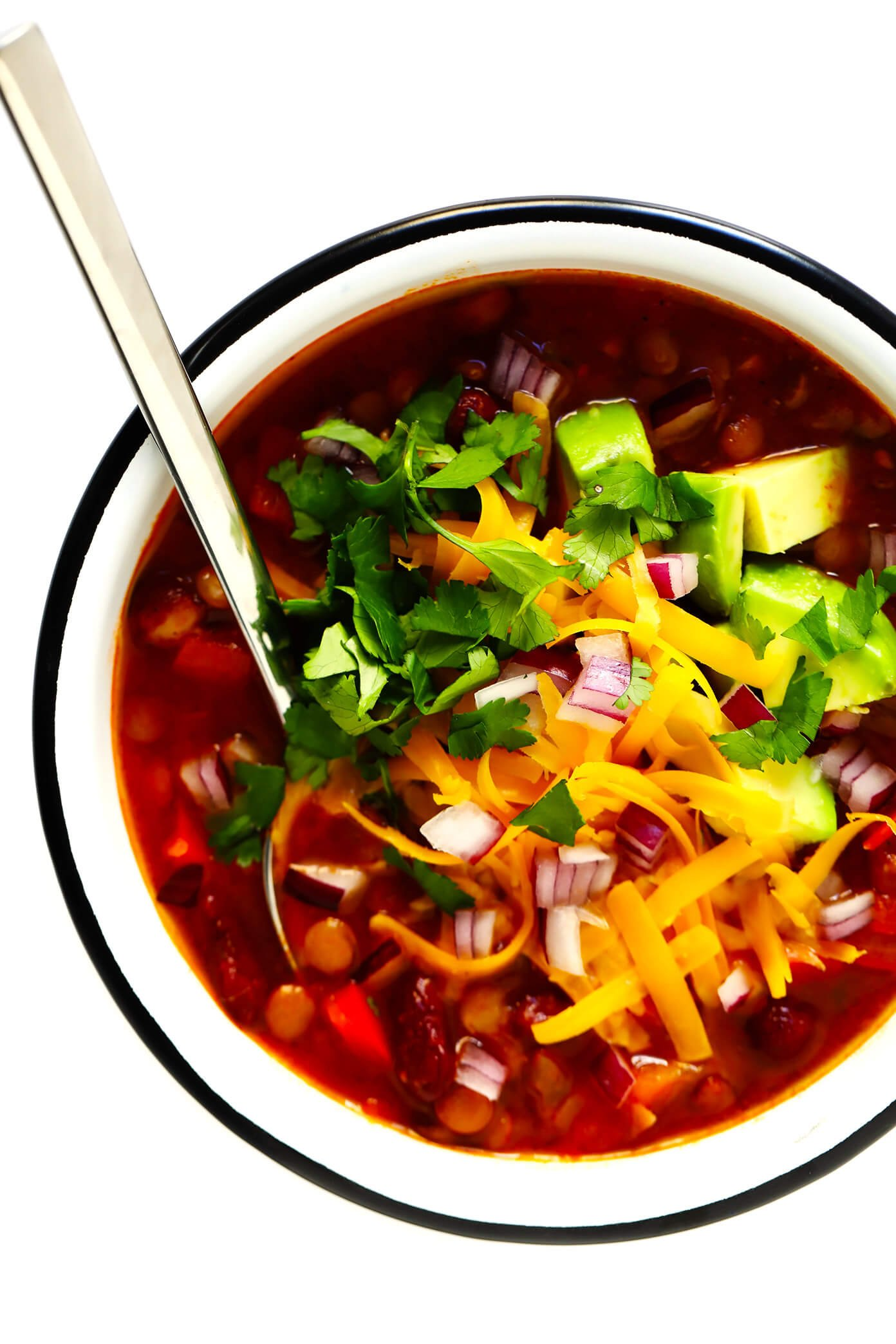 Amazing Vegetarian Chili Recipe (also Gluten-Free and Vegan)