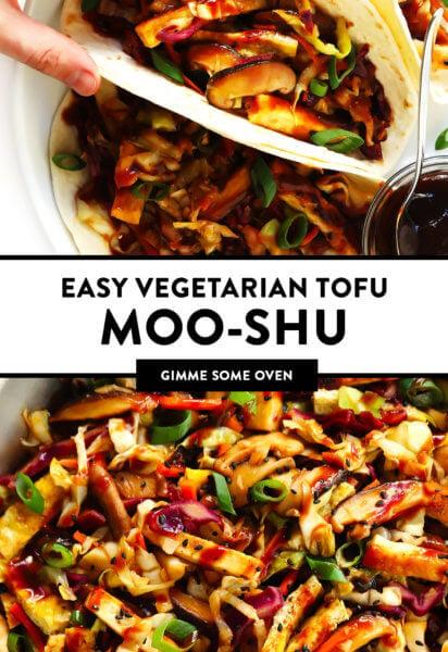 Vegetarian Moo Shu Recipe