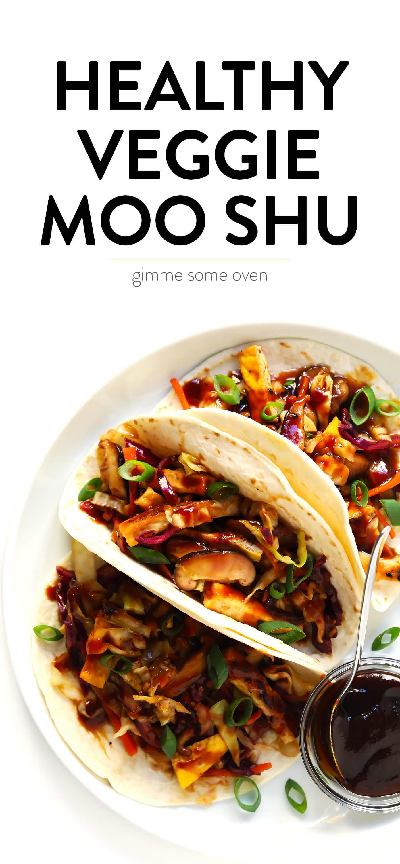 Healthy Vegetarian Moo Shu