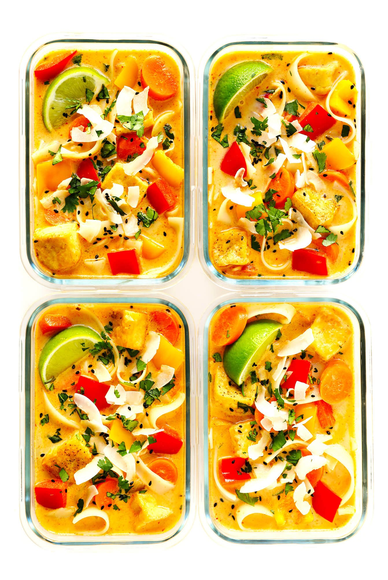 Thai Red Curry Meal Prep