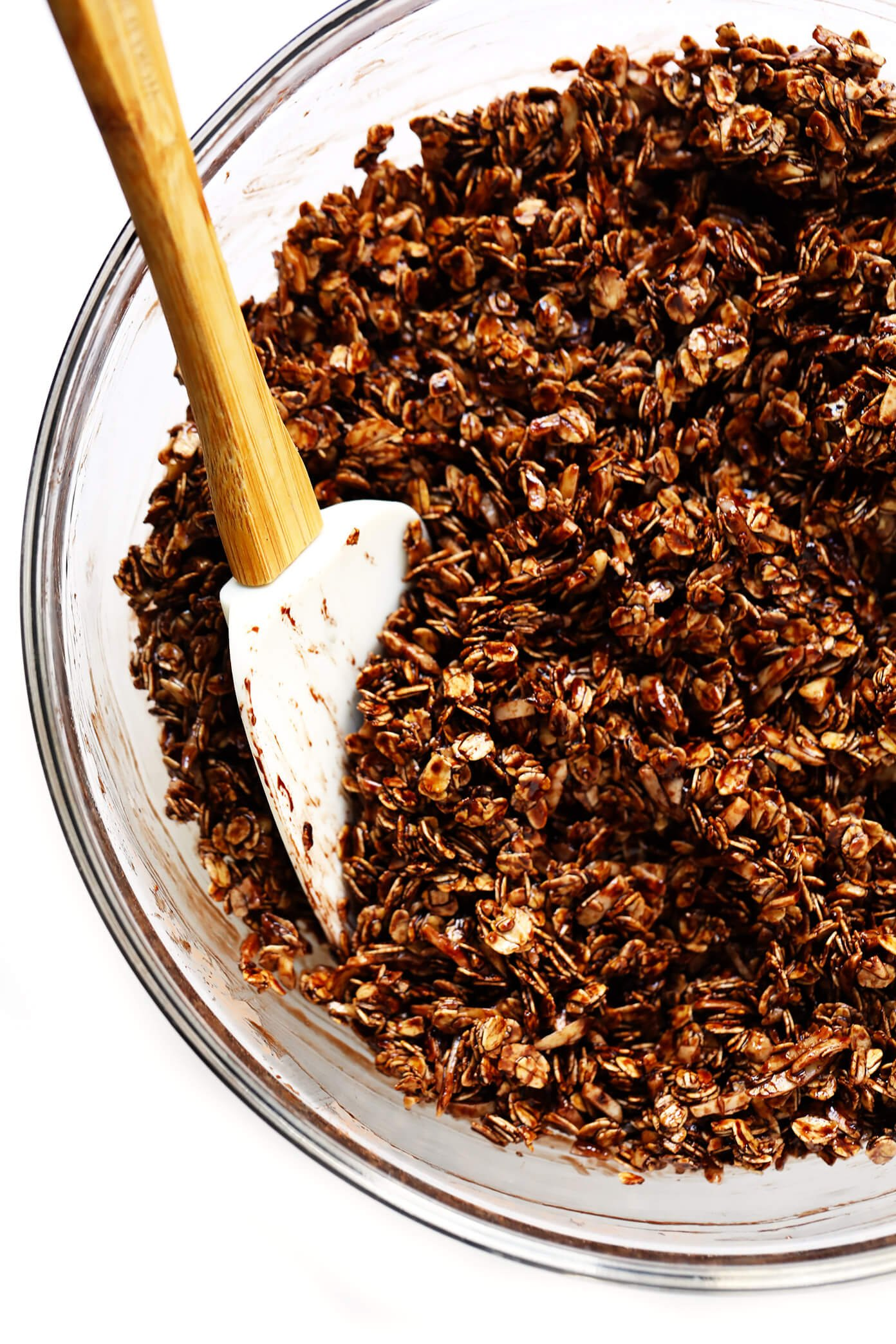 Healthy Chocolate Granola Ingredients