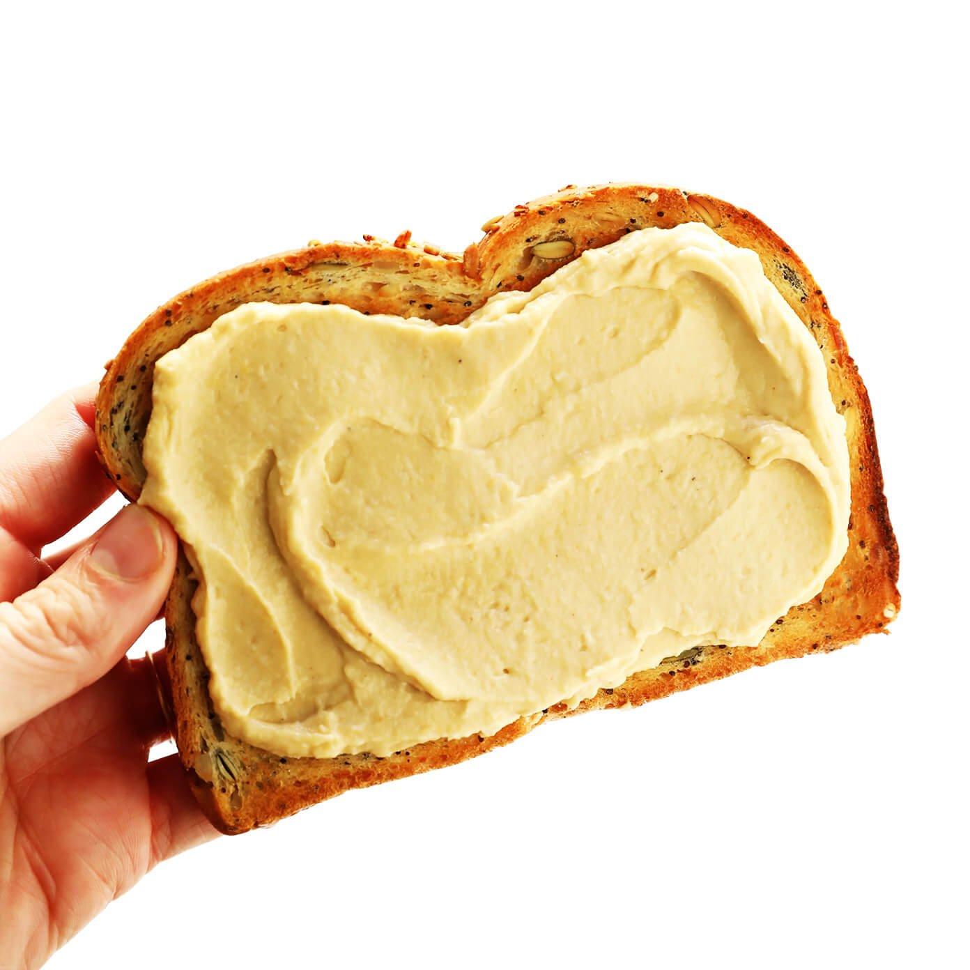 Hummus Toast Recipe