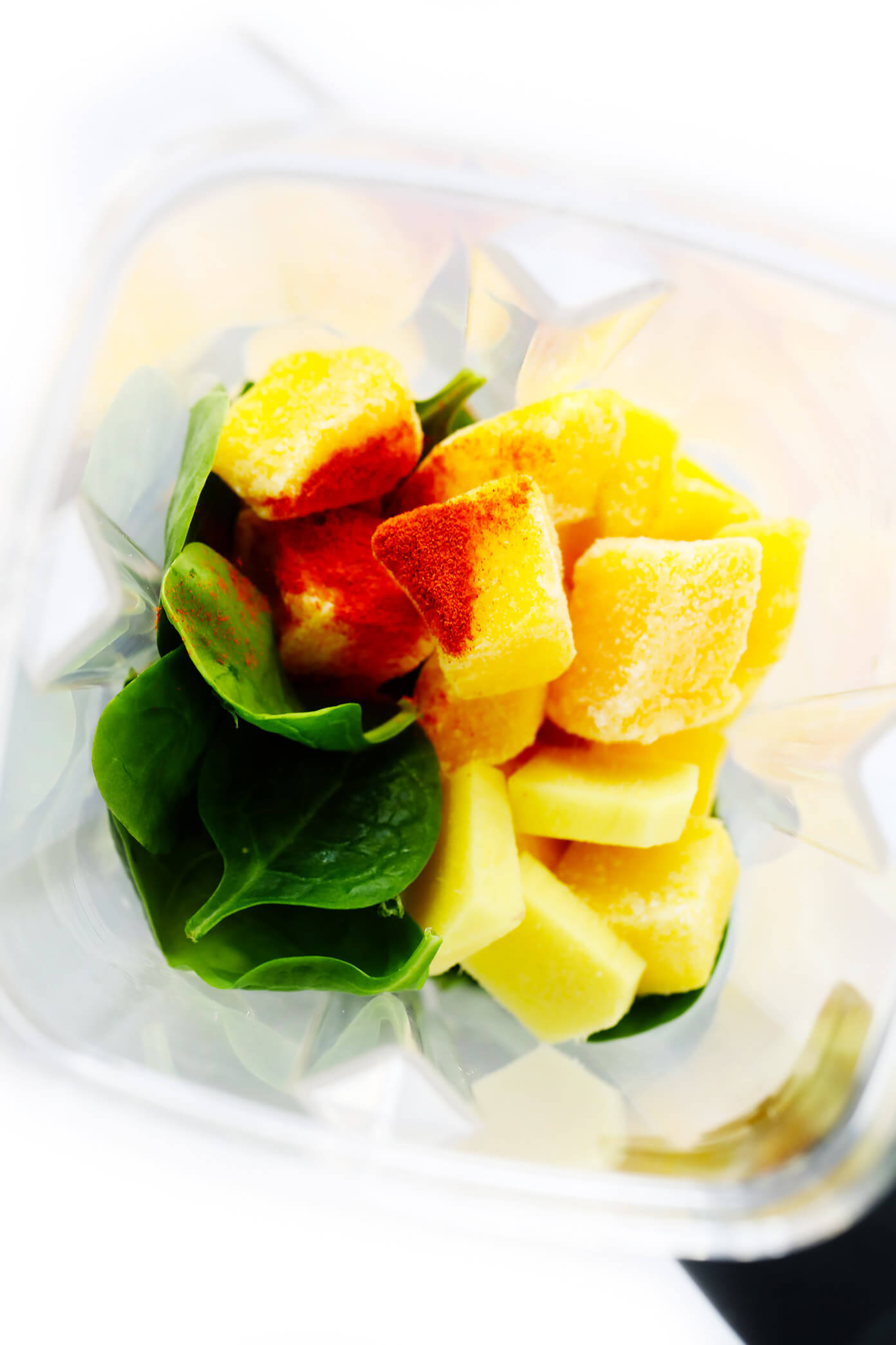 Mango Green Smoothie Ingredients