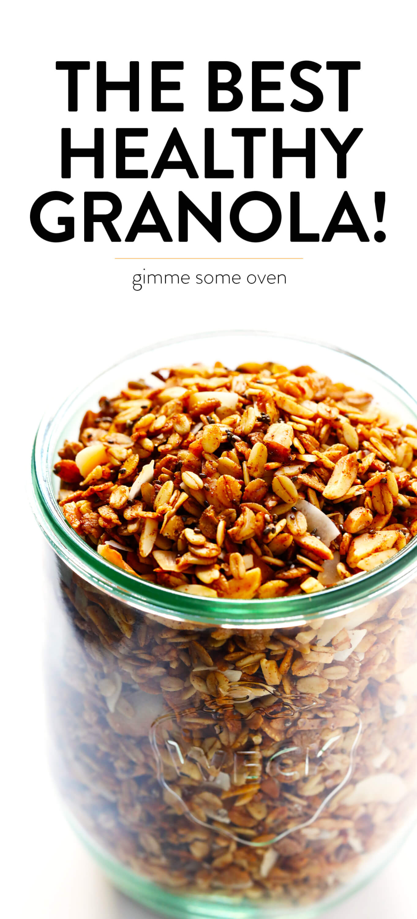The BEST Healthy Granola! | Gimme Some Oven