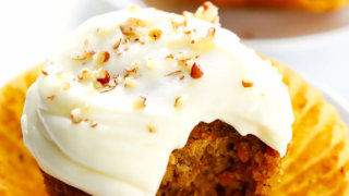 Eggless Carrot Cake Cupcakes - Mommy's Home Cooking