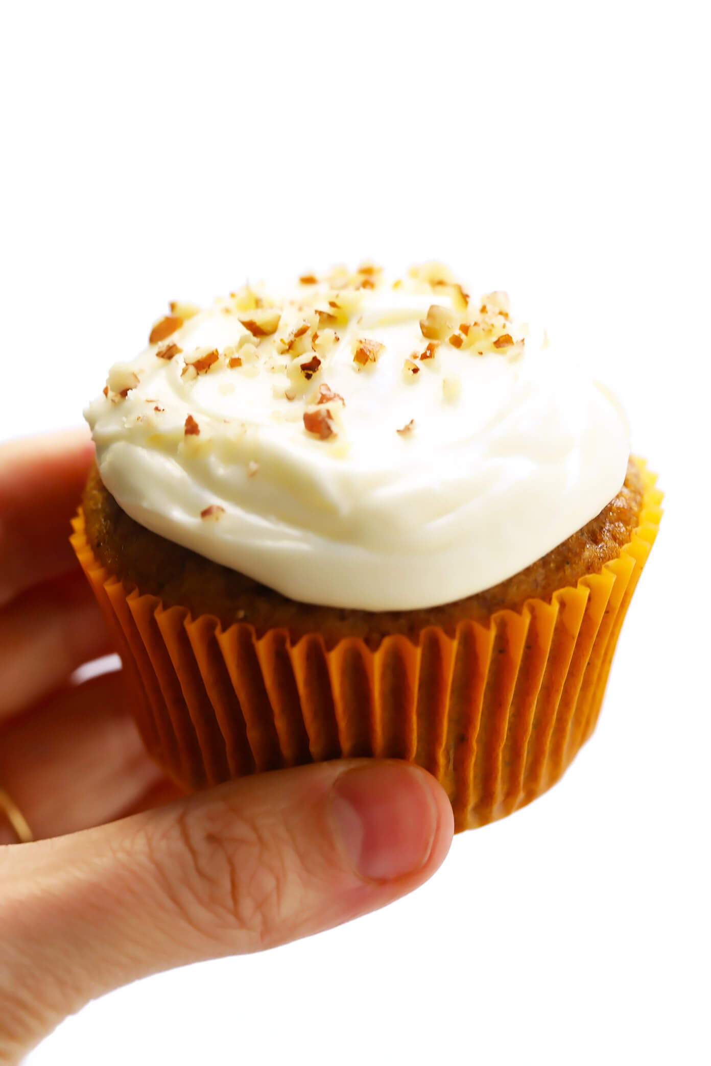 Carrot Cake Cupcakes with Cream Cheese Frosting