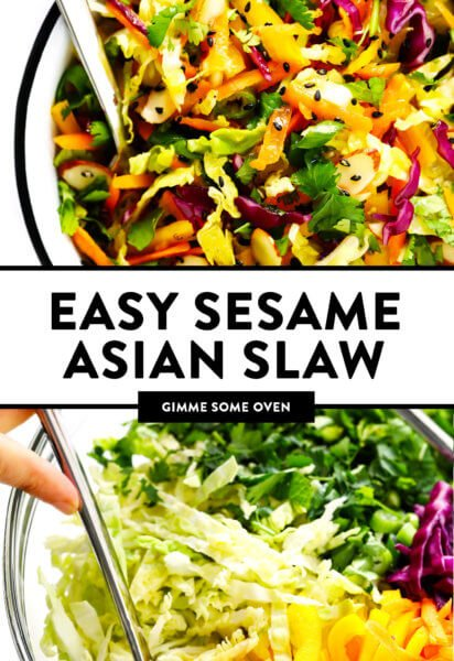 Sesame Asian Slaw