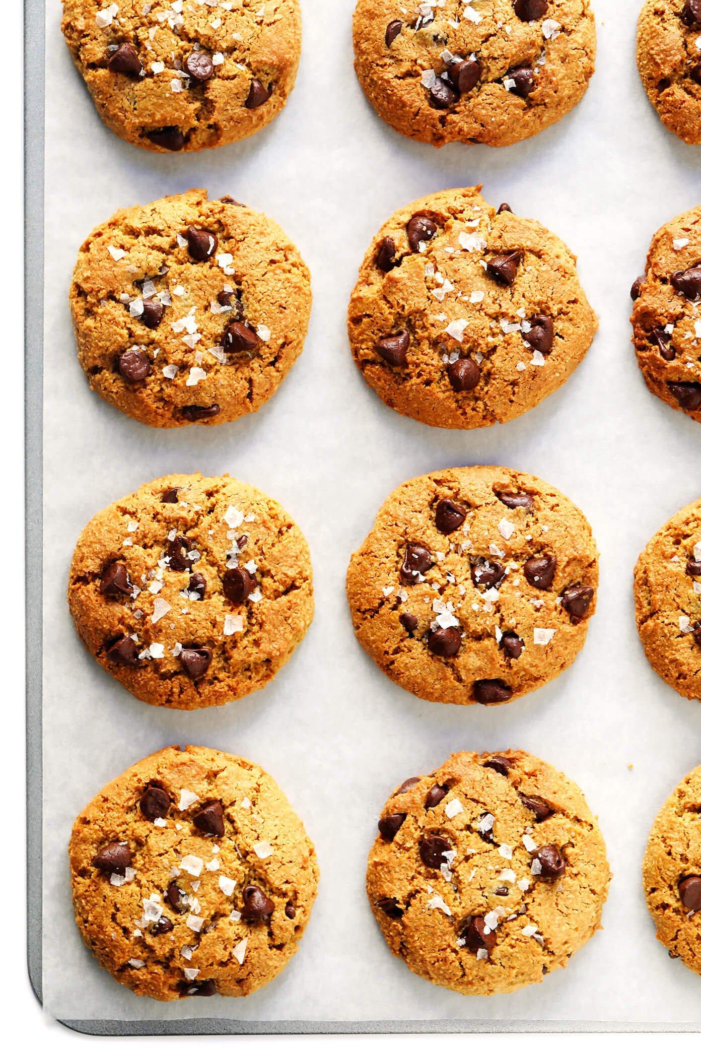 Gluten-Free Vegan Chocolate Chip Cookies Recipe