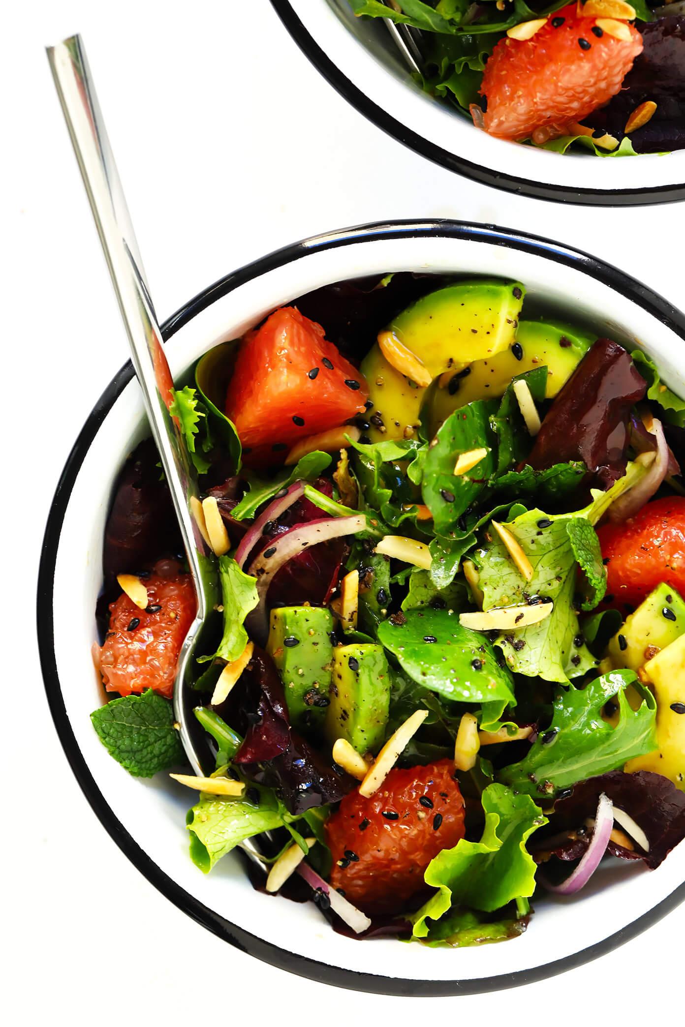 Sunshine Citrus Avocado Salad